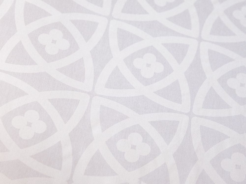 Prostěradlo CARMINE bílé 150x225 - 100% bavlna